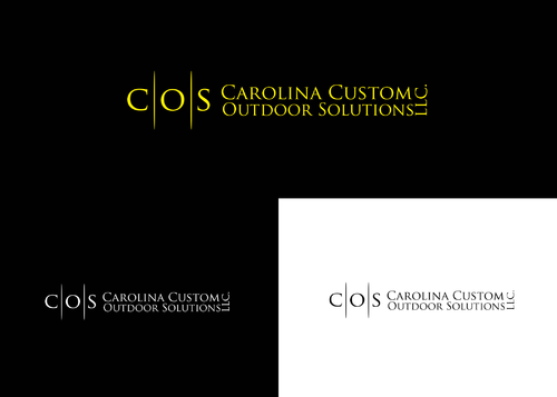 Carolina Custom Outdoor Solutions, LLC. A Logo, Monogram, or Icon  Draft # 30 by AstridDesign