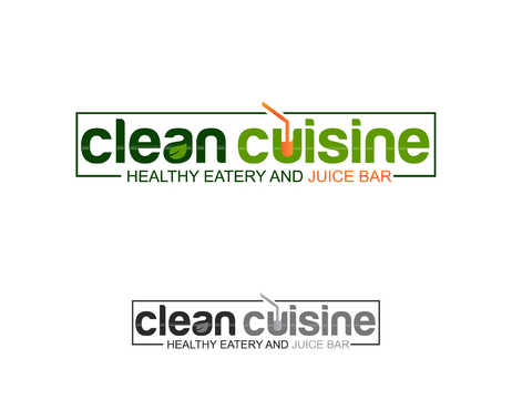 clean cuisine healthy eatery and juice bar  A Logo, Monogram, or Icon  Draft # 35 by gosto