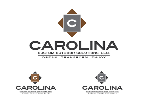 Carolina Custom Outdoor Solutions, LLC. A Logo, Monogram, or Icon  Draft # 59 by TheTanveer