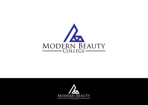 Modern Beauty College A Logo, Monogram, or Icon  Draft # 95 by AstridDesign