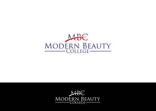 Modern Beauty College A Logo, Monogram, or Icon  Draft # 97 by AstridDesign