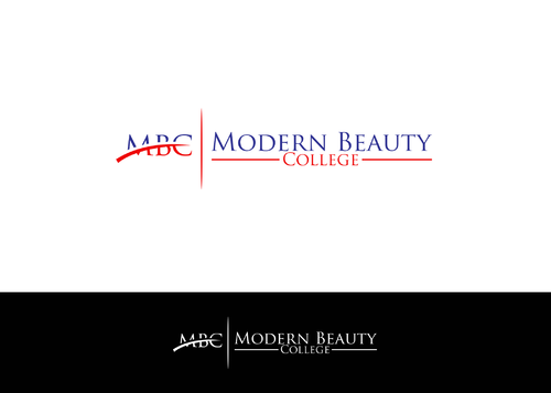 Modern Beauty College A Logo, Monogram, or Icon  Draft # 98 by AstridDesign