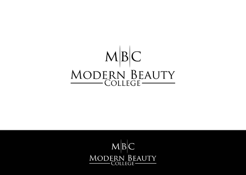 Modern Beauty College A Logo, Monogram, or Icon  Draft # 107 by AstridDesign