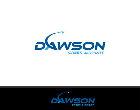 Dawson Creek Airport A Logo, Monogram, or Icon  Draft # 2 by B4BEST