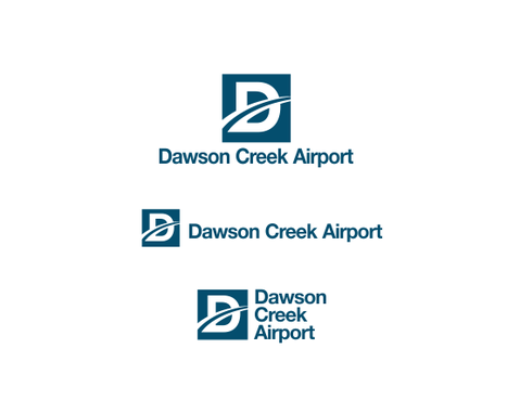 Dawson Creek Airport A Logo, Monogram, or Icon  Draft # 12 by odc69