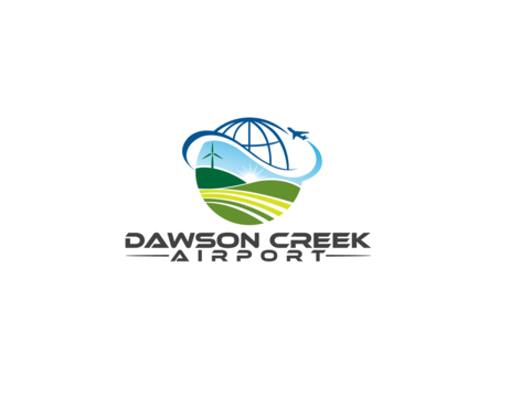 Dawson Creek Airport A Logo, Monogram, or Icon  Draft # 20 by hallow