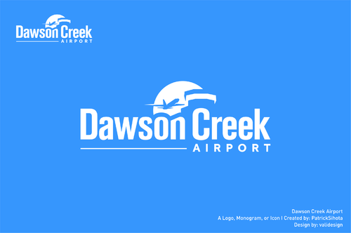 Dawson Creek Airport A Logo, Monogram, or Icon  Draft # 56 by validesign