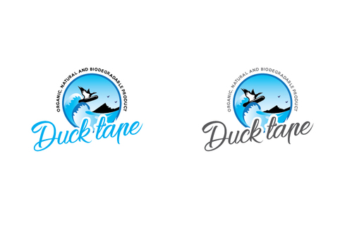 Duck tape surf/snowboard wax A Logo, Monogram, or Icon  Draft # 5 by TheTanveer