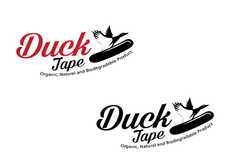 Duck tape surf/snowboard wax A Logo, Monogram, or Icon  Draft # 6 by TheTanveer