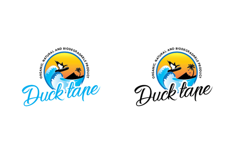 Duck tape surf/snowboard wax A Logo, Monogram, or Icon  Draft # 7 by TheTanveer