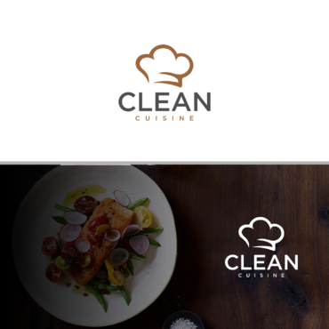 clean cuisine healthy eatery and juice bar  A Logo, Monogram, or Icon  Draft # 79 by Anora