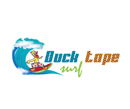 Duck tape surf/snowboard wax A Logo, Monogram, or Icon  Draft # 16 by shreeganesh