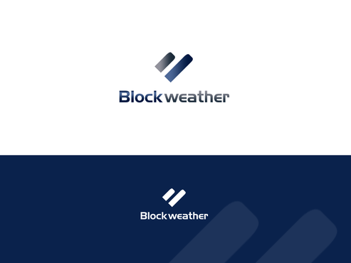 Blockweather     (could also be Blockweather Capital) A Logo, Monogram, or Icon  Draft # 156 by shivabomma