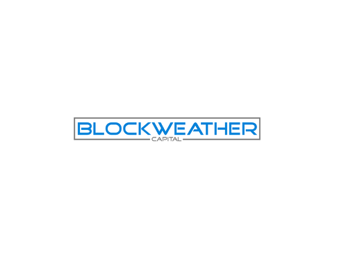 Blockweather     (could also be Blockweather Capital) A Logo, Monogram, or Icon  Draft # 160 by Lokeydesign