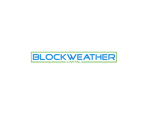 Blockweather     (could also be Blockweather Capital) A Logo, Monogram, or Icon  Draft # 161 by Lokeydesign