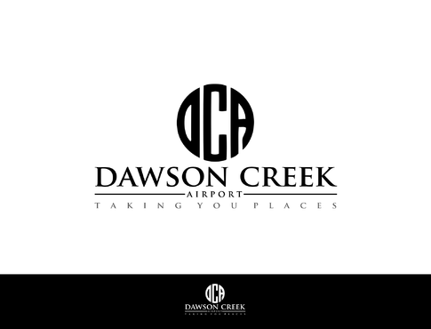Dawson Creek Airport A Logo, Monogram, or Icon  Draft # 152 by LOVEDESIGN