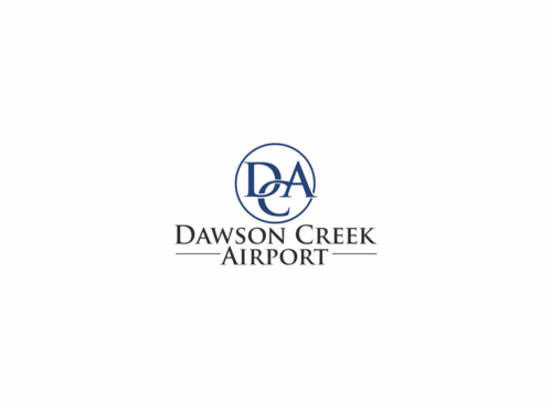 Dawson Creek Airport A Logo, Monogram, or Icon  Draft # 158 by hambaAllah