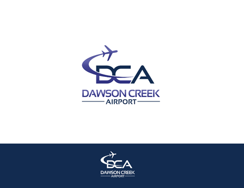 Dawson Creek Airport A Logo, Monogram, or Icon  Draft # 160 by shivabomma
