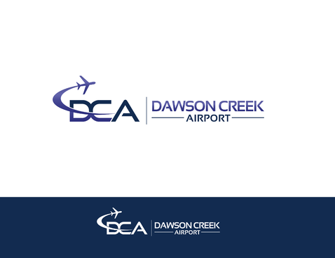 Dawson Creek Airport A Logo, Monogram, or Icon  Draft # 161 by shivabomma