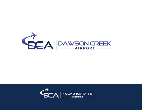 Dawson Creek Airport A Logo, Monogram, or Icon  Draft # 162 by shivabomma