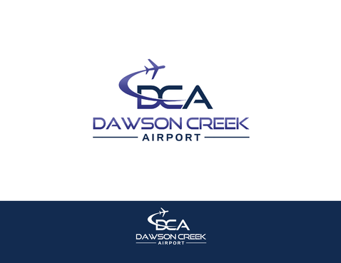 Dawson Creek Airport A Logo, Monogram, or Icon  Draft # 163 by shivabomma