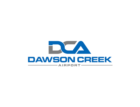 Dawson Creek Airport A Logo, Monogram, or Icon  Draft # 166 by Lokeydesign