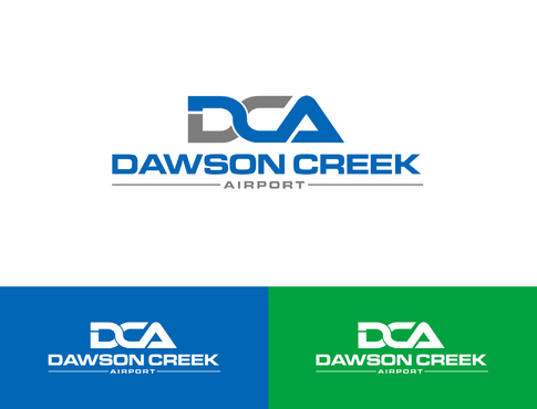 Dawson Creek Airport A Logo, Monogram, or Icon  Draft # 167 by Lokeydesign
