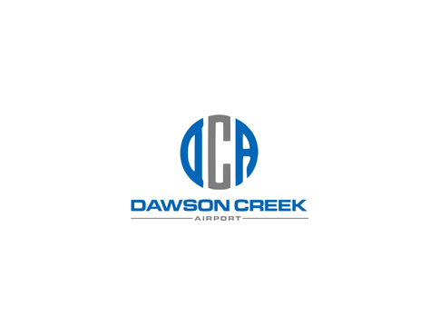 Dawson Creek Airport A Logo, Monogram, or Icon  Draft # 168 by Lokeydesign