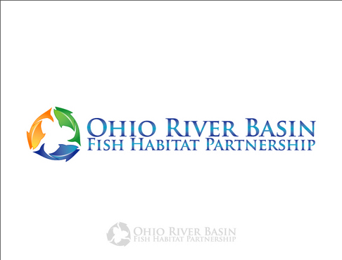 Ohio River Basin Fish Habitat Partnership or ORBFHP A Logo, Monogram, or Icon  Draft # 13 by vector