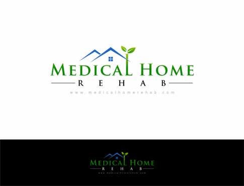 Medical Home Rehab Logo Winning Design by HandsomeRomeo