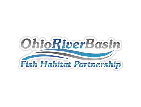 Ohio River Basin Fish Habitat Partnership or ORBFHP A Logo, Monogram, or Icon  Draft # 18 by vector