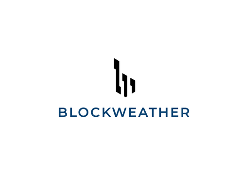 Blockweather     (could also be Blockweather Capital) A Logo, Monogram, or Icon  Draft # 220 by Harni