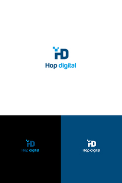 Hop digital A Logo, Monogram, or Icon  Draft # 23 by sbachar81