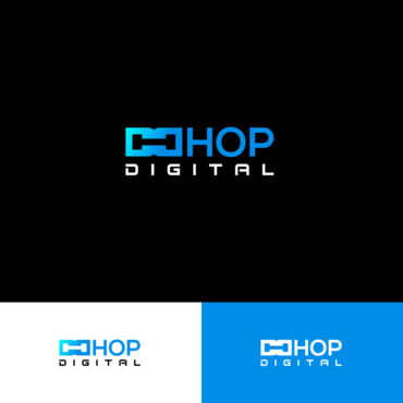 Hop digital A Logo, Monogram, or Icon  Draft # 50 by vanilogos