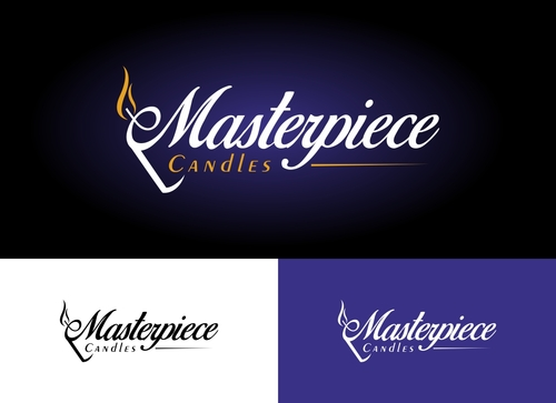 Masterpiece Candles A Logo, Monogram, or Icon  Draft # 123 by Adwebicon