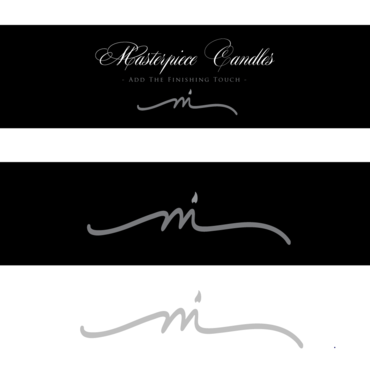 Masterpiece Candles A Logo, Monogram, or Icon  Draft # 175 by donnajane