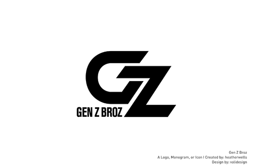 Gen Z Broz A Logo, Monogram, or Icon  Draft # 184 by validesign