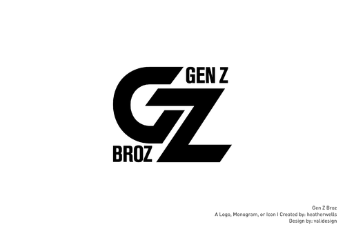 Gen Z Broz A Logo, Monogram, or Icon  Draft # 186 by validesign