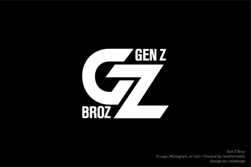 Gen Z Broz A Logo, Monogram, or Icon  Draft # 187 by validesign
