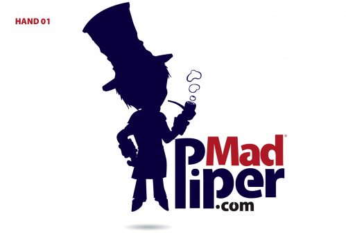 Mad Piper A Logo, Monogram, or Icon  Draft # 152 by Cheliland