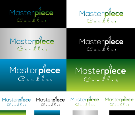 Masterpiece Candles Logo Winning Design by jackHmill