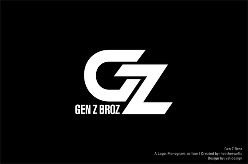 Gen Z Broz A Logo, Monogram, or Icon  Draft # 263 by validesign
