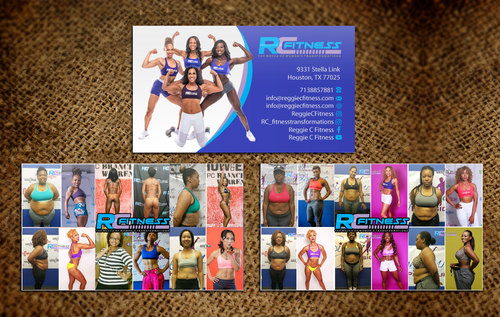 Design by einsanimation For RC Fitness Business Card