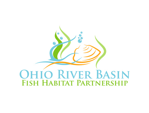 Ohio River Basin Fish Habitat Partnership or ORBFHP A Logo, Monogram, or Icon  Draft # 29 by vector