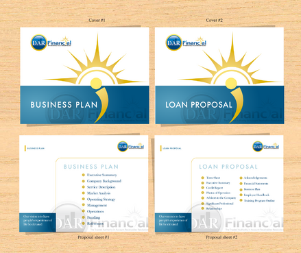 Cover page for Business Plan and Loan Proposal