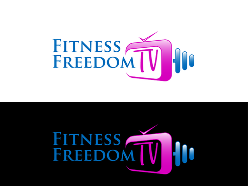 Design by Aaask For Logo for Fitness online TV