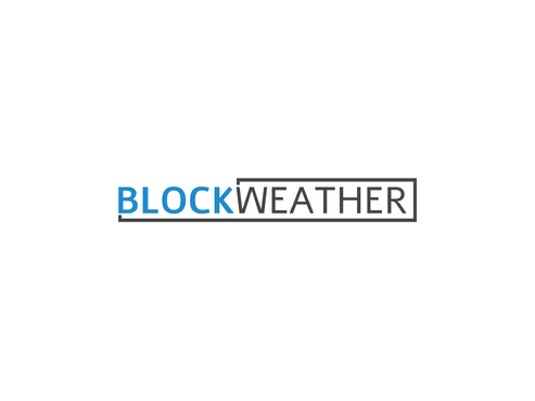 Blockweather     (could also be Blockweather Capital) A Logo, Monogram, or Icon  Draft # 242 by HemelDesign