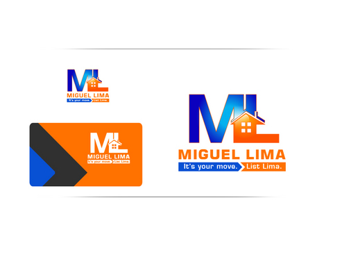 Miguel Lima or initials (ML)