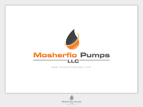 Mosherflo Pumps, LLC. A Logo, Monogram, or Icon  Draft # 54 by emzbeautyart
