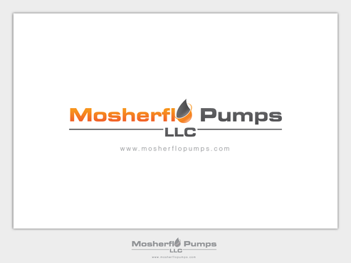 Mosherflo Pumps, LLC. A Logo, Monogram, or Icon  Draft # 55 by emzbeautyart